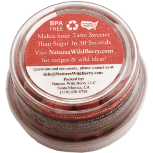 The Travel Jar | 4.6 Grams / Approximately 25 – 30 Servings | 15-20 mins | Best Way to TAKE Your Berries ON The GO